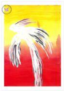 Art Greeting Card - Phoenix Rising